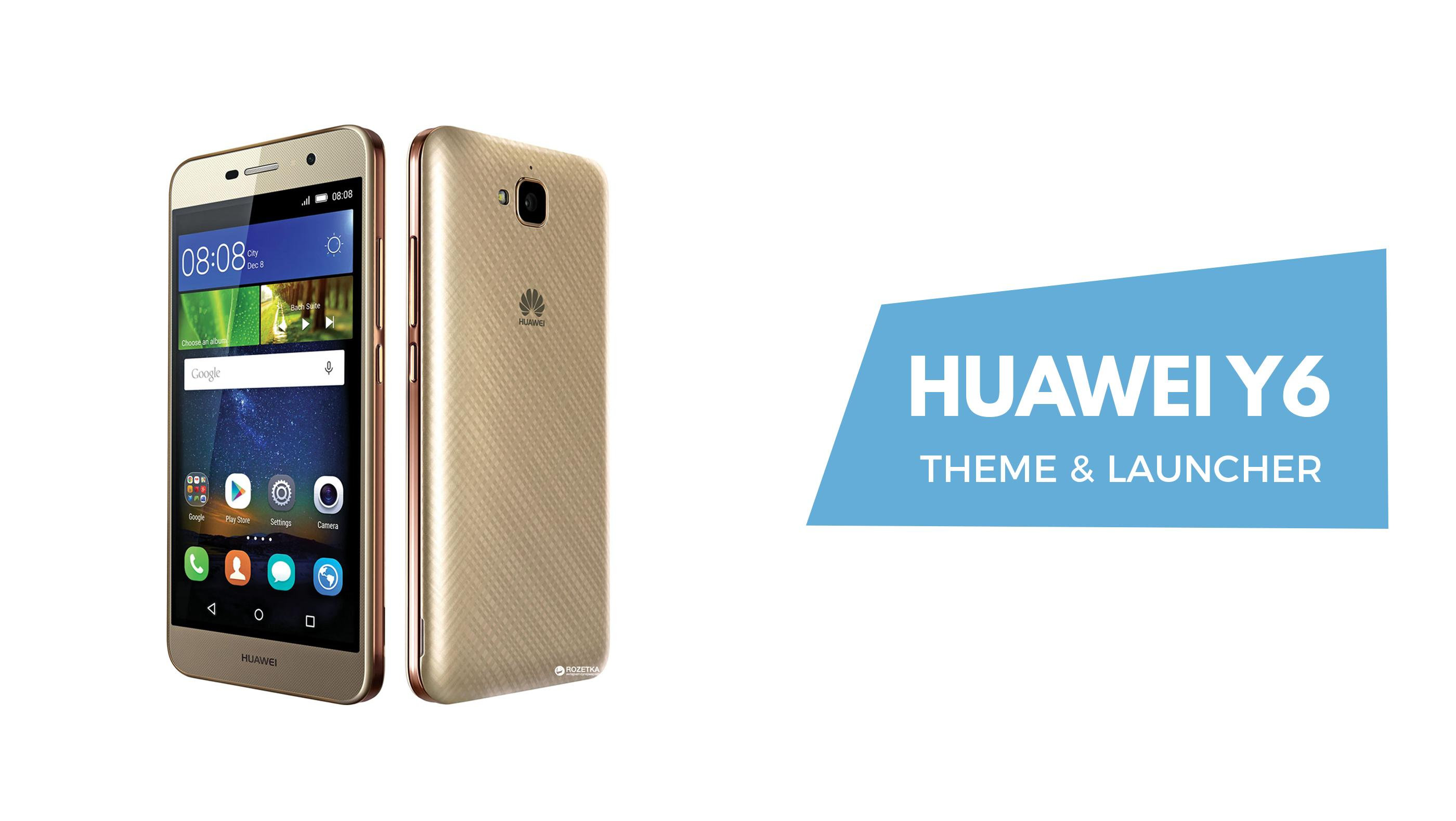 📱 Theme for Huawei Y6 Pro: Huawei Y6 Pro launcher for