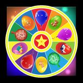 Surprise eggs wheel icon