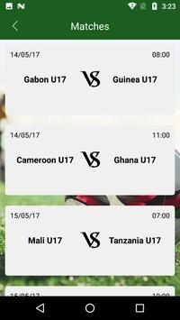 Free 2017 Africa U-17 Cup apk screenshot