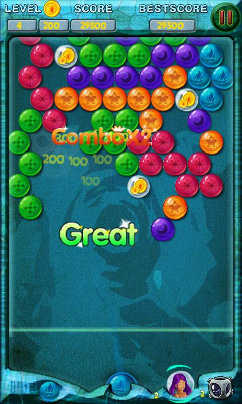 Bubble Atlantis Game - Play online at