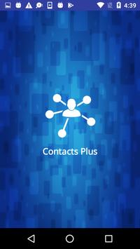Contacts(+) poster