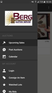 Bill Berg Auctions apk screenshot