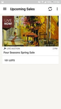 Four Seasons Auction Gallery poster