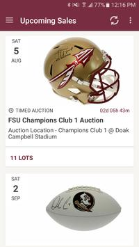 GameDay Auctions poster