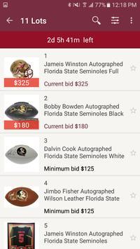 GameDay Auctions screenshot 1
