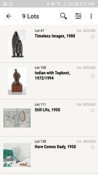 Larsen Art Auction screenshot 1