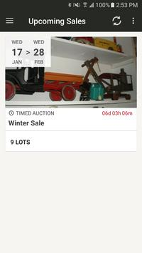 Lloyds of Lakeland Auction poster