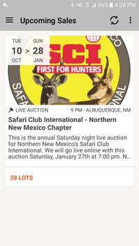 My Hunting Auctions poster