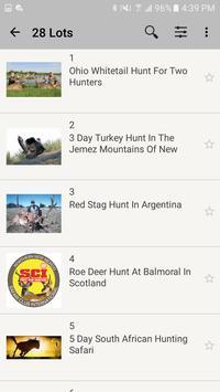 My Hunting Auctions screenshot 1