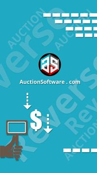 Reverse auction poster