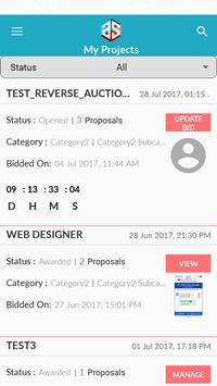 Reverse auction screenshot 3
