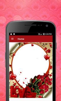 Flower Photo Frame screenshot 1