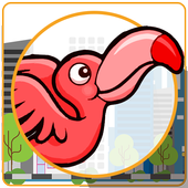 Angry Flappy In City icon