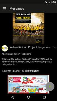 Yellow Ribbon Project poster