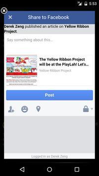 Yellow Ribbon Project screenshot 4