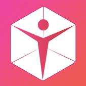 TaDa Time - 3D Avatar Creator, AR Messenger App icon