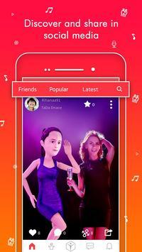 TaDa Time - 3D Avatar Creator, AR Messenger App poster
