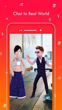 TaDa Time - 3D Avatar Creator, AR Messenger App apk screenshot