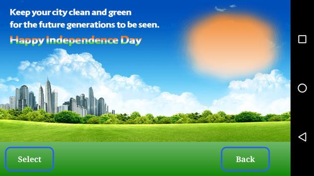 Independence Day Frame poster