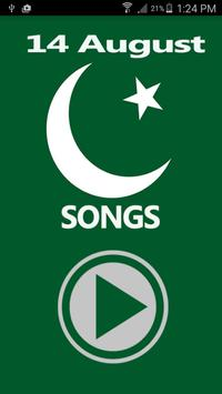 14 august songs poster