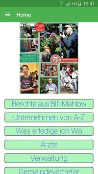 Blankenfelde-Mahlow poster