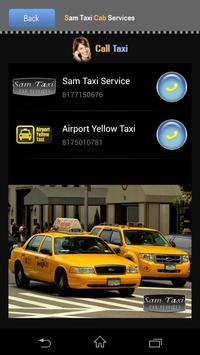Sam Taxi Cab Service screenshot 1