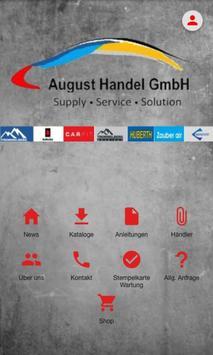 August Handel poster
