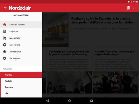 Nord Eclair pour Tablette apk screenshot