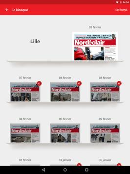 Nord Eclair pour Tablette screenshot 3