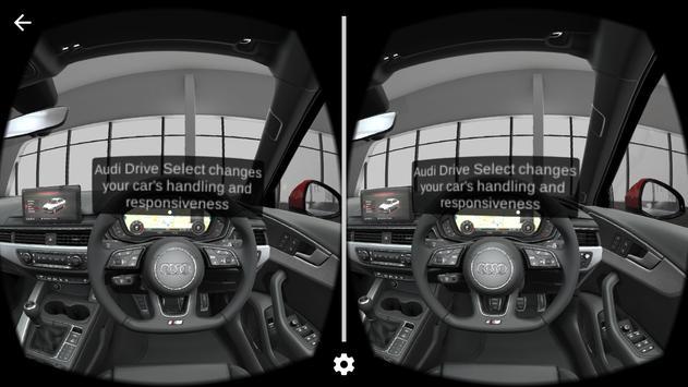 Audi A4 Virtual Showroom poster