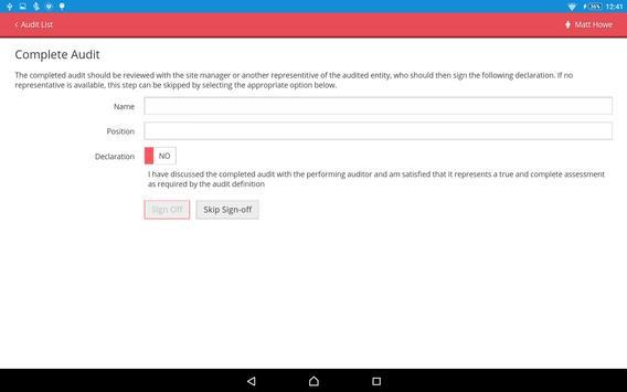 AuditHub Mobile apk screenshot