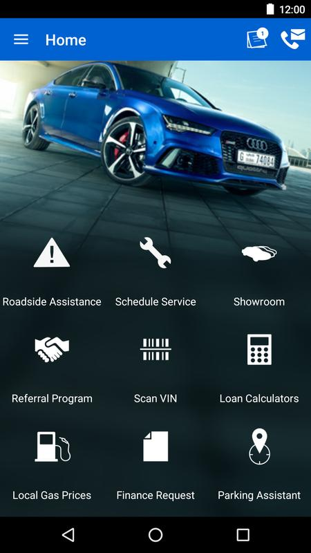 audi west chester for android - apk download