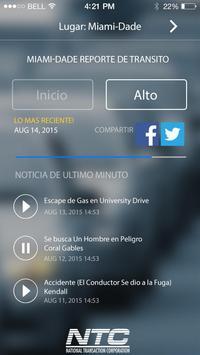 Tráfico de Audio Miami-Dade apk screenshot