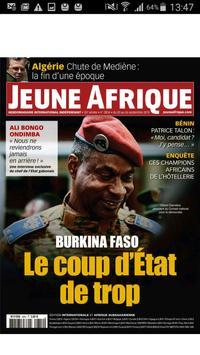 Jeune Afrique Edition Digitale poster