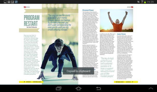 Men's Muscle & Health Magazine apk screenshot