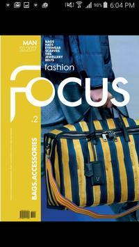 Fashion Focus Man Bags poster