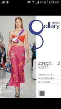 Fashion Gallery London poster