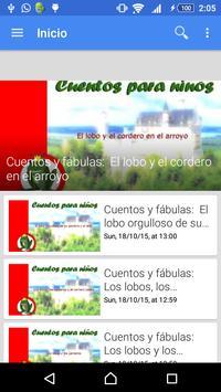 Audio cuentos para niños स्क्रीनशॉट 3