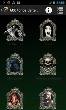 600 free Ringtones of Terror poster