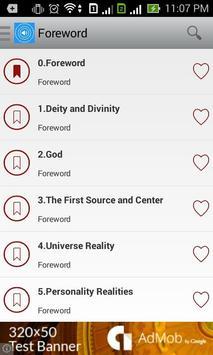 Urantia Audio Book Free apk screenshot