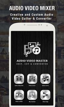 Audio Video Editor poster