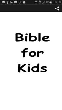 Audio Bible for Kids poster