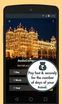 Mysore Audio Travel Guide apk screenshot