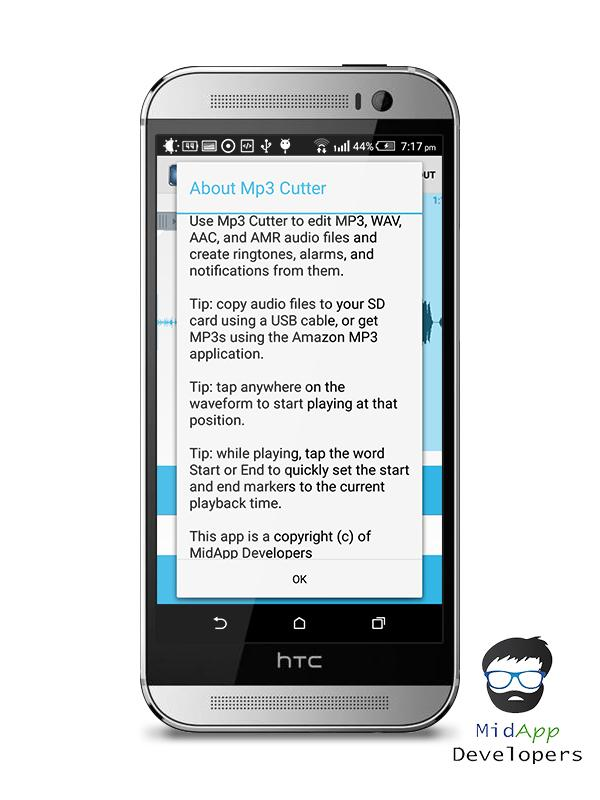 MP3 Media cutter for Android - APK Download