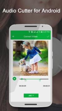 Audio Cutter for Android apk screenshot