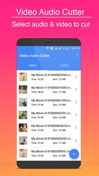 video audio cutter poster