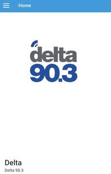 Delta 90.3 FM poster
