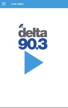 Delta 90.3 FM apk screenshot