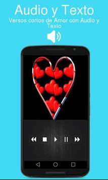 Versos cortos de Amor con Audio y Texto poster