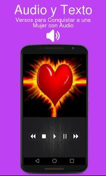 Versos para Conquistar a una Mujer con Audio apk screenshot